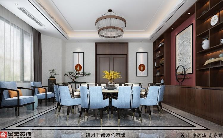 赣州于都自建别墅豪宅&新中式风格