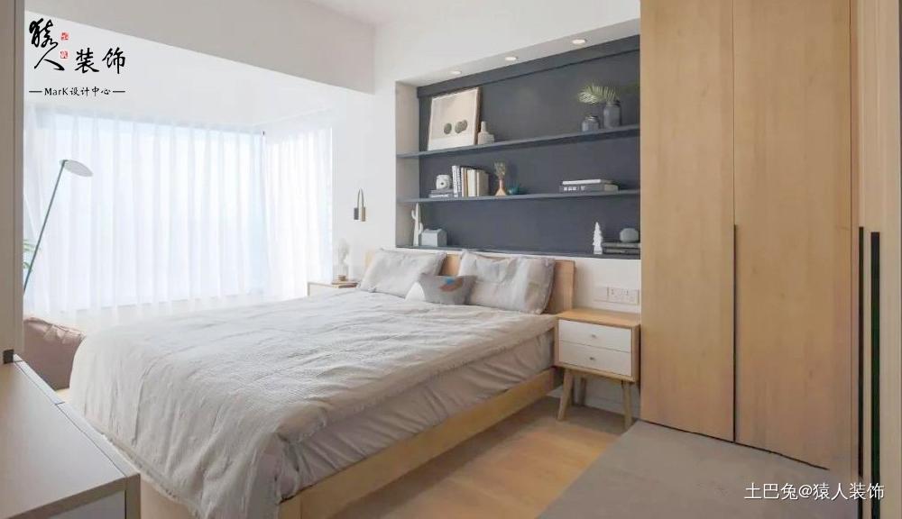 92㎡两居最爱还是卧室景观阳台!卧室现代简约卧室设计图片赏析