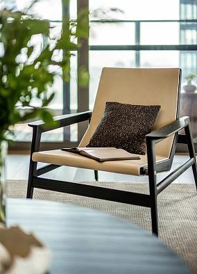 380㎡简雅新中式一方宁静!客厅中式现代设计图片赏析