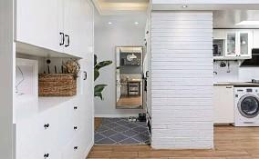 50平米的二居室,北欧风格阳台欧式豪华设计图片赏析