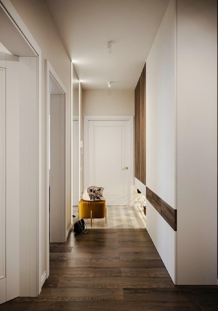 55平方现代简约一居室