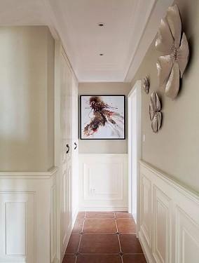 160㎡温馨美式风,壁炉造型电视墙亮了!功能区美式田园设计图片赏析