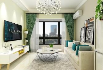 新苑国际新城 100平小三室现代简约风格