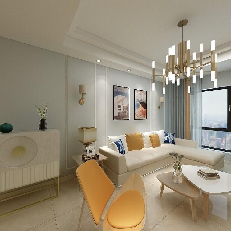 56平米一居室现代简约风