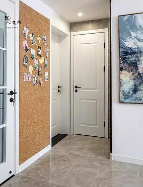 87平北欧三居室,全屋太清爽漂亮了!功能区北欧极简设计图片赏析
