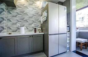130㎡三室二厅中式风格餐厅中式现代设计图片赏析