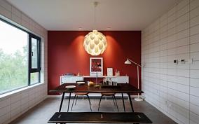 低饱和度色240平北欧风厨房1图北欧极简设计图片赏析