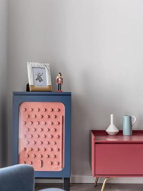 北欧风格,22万打造的三居室客厅北欧极简设计图片赏析