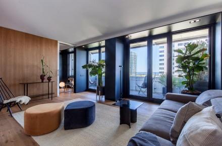 120m²日式雅居乐蓝小姐新居客厅
