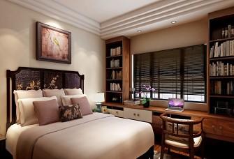 现代元素与中式传统风格碰撞 -四居室