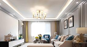 欧式风格四季花都131平米三居室功能区地中海设计图片赏析