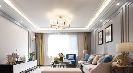 欧式风格四季花都131平米三居室功能区