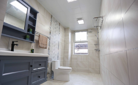 欧式风格四季花都131平米三居室卫生间