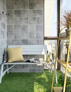 120平美式三居,优雅大气上档次!阳台中式现代设计图片赏析