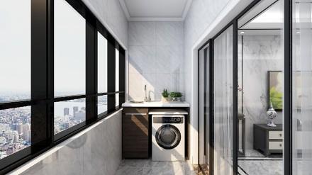 115㎡新中式美居,舒适写意阳台