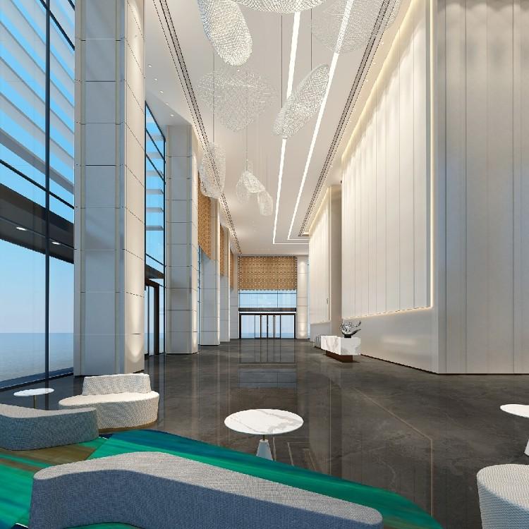 某办公楼的大厅设计,大厅就得这么设计!