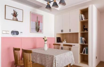 110㎡北欧风,甜而不腻的家!厨房