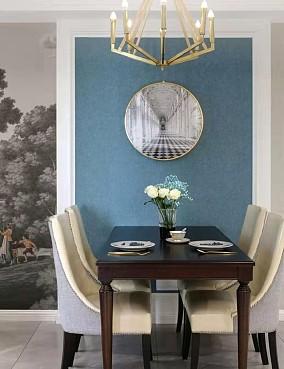 115平米的四居室,美式风格厨房美式经典设计图片赏析