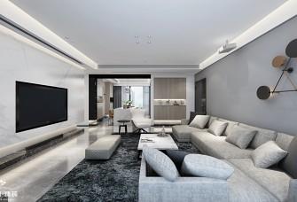 180㎡现代 简约低调的家居空间