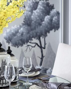 120平的欧式风格雅宅厨房欧式豪华设计图片赏析