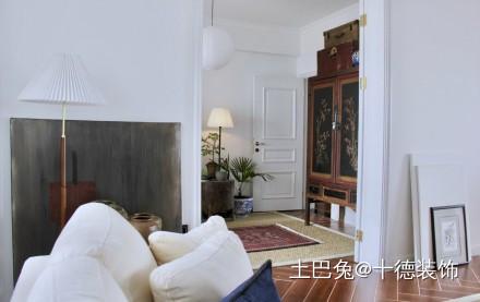95平新中式复古风格客厅其他客厅设计图片赏析