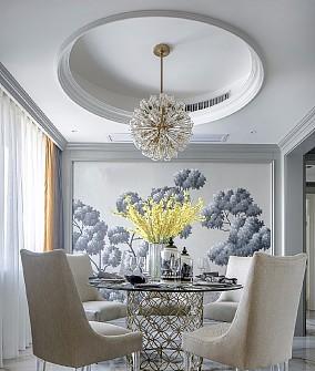 120平的欧式风格雅宅厨房2图欧式豪华设计图片赏析