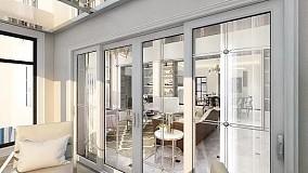 高级现代时尚风简洁更有范阳台中式现代设计图片赏析