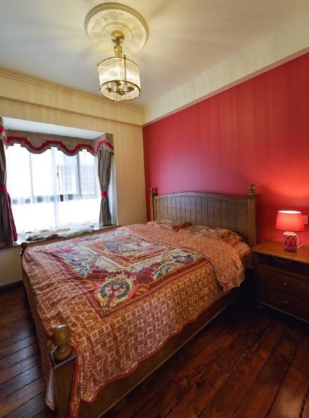 190平方乡村美式风格卧室