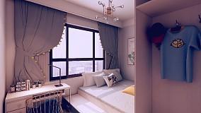 135平浪漫潮流我的家卧室2图潮流混搭设计图片赏析