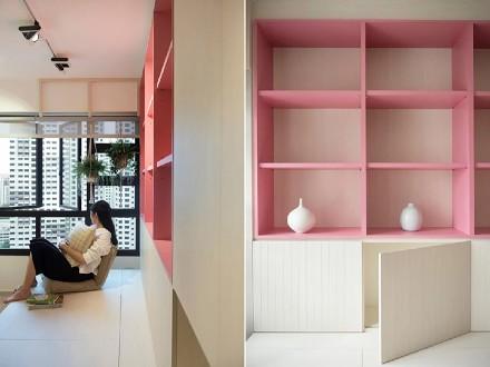 清新两居室宁静日式风格卧室
