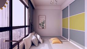135平浪漫潮流我的家卧室1图潮流混搭设计图片赏析