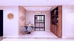 135平浪漫潮流我的家厨房2图潮流混搭设计图片赏析