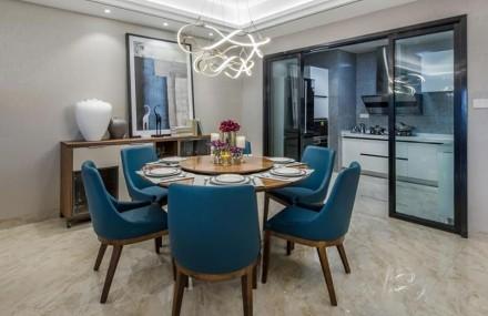 165平米欧式风格 流光厨房