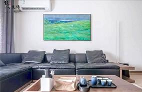 88㎡日式3室,多功能房颜值与实力并存!客厅日式设计图片赏析
