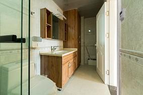 丽景中央城168平米大平层简欧风格装修卫生间欧式豪华设计图片赏析