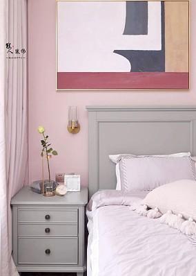 80㎡简美风两室,素净淡雅、唯美浪漫!卧室美式经典设计图片赏析