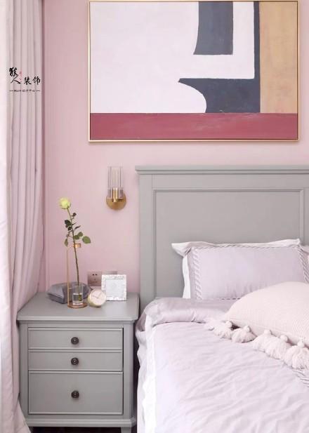 80㎡简美风两室,素净淡雅、唯美浪漫!卧室
