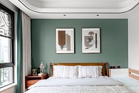 118㎡老气精装房变身年轻时尚宜居美家卧室日式设计图片赏析