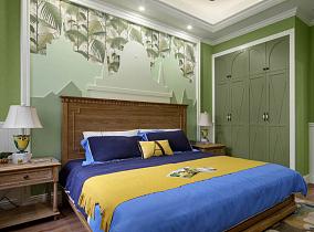 140平美式经典,繁华深处遇见新生活~卧室美式经典设计图片赏析