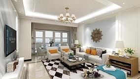 簡歐風格147㎡大平層豪華房14689305