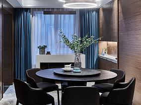 130平中式三居室,讲究空间的层次感~厨房1图中式现代设计图片赏析