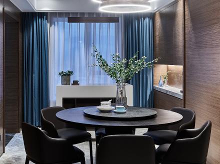 130平中式三居室,讲究空间的层次感~厨房1图