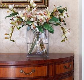 400㎡美式豪宅休闲式氛围玄关美式经典设计图片赏析
