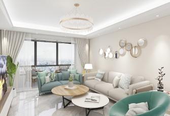 70平家装二居室全包7万北欧风