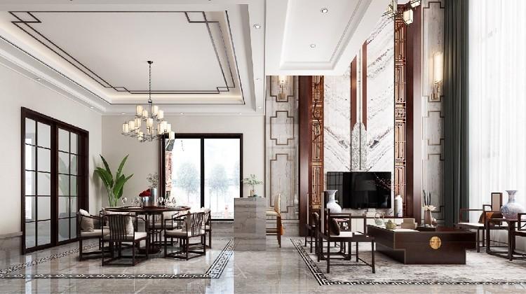 復式樓--新中式風格