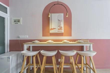 浪漫的北欧风少女居家厨房