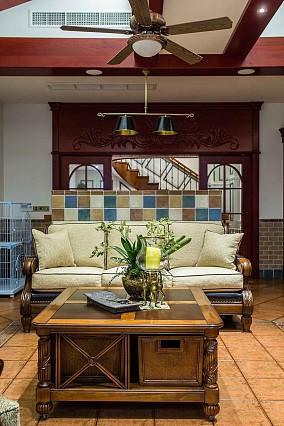 400㎡美式豪宅如生活在美剧般功能区美式经典设计图片赏析