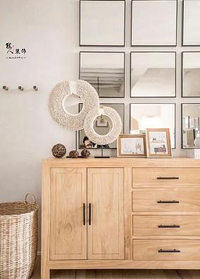 134平日式四室全屋利用回收老木料玄关日式设计图片赏析