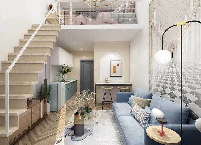 52平现代简约单身公寓
