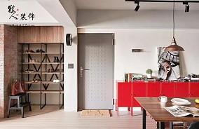 106平个性单身宅和谐设计感工业风玄关其他设计图片赏析